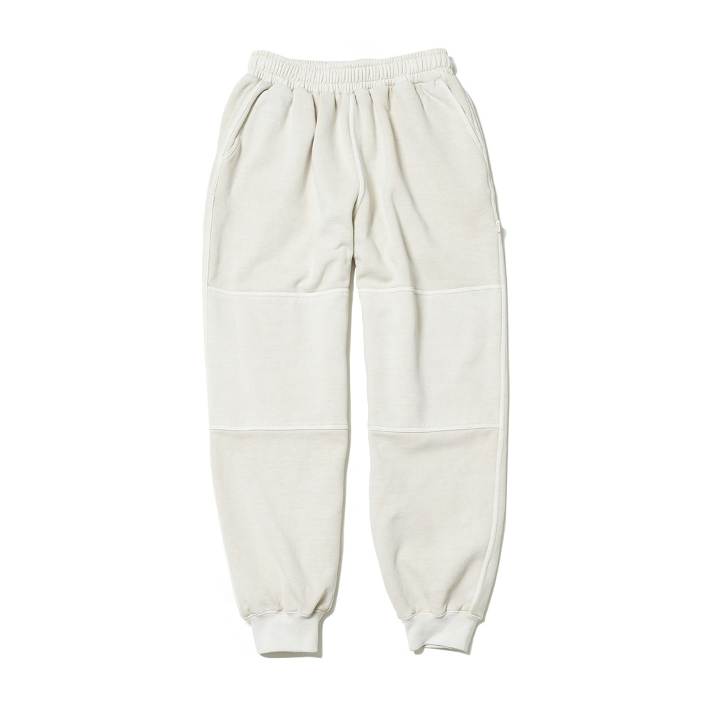 Garment Dyed Sweat Pants - Oat Beige