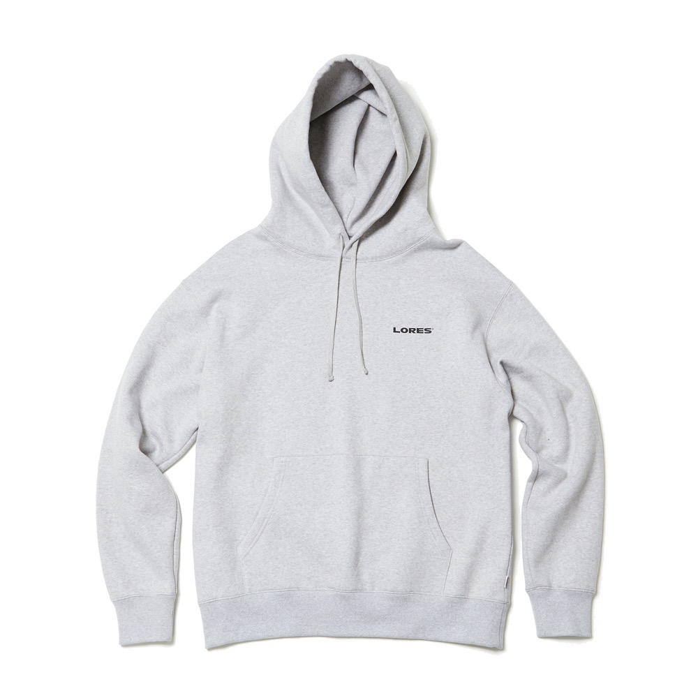 Logo Pullover Hoodie - Heather Grey