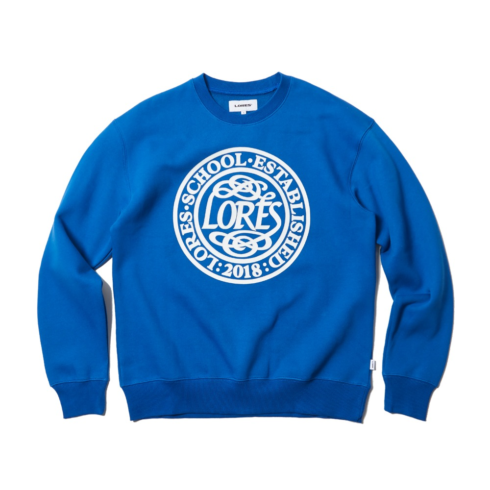 College School Crewneck - Navy