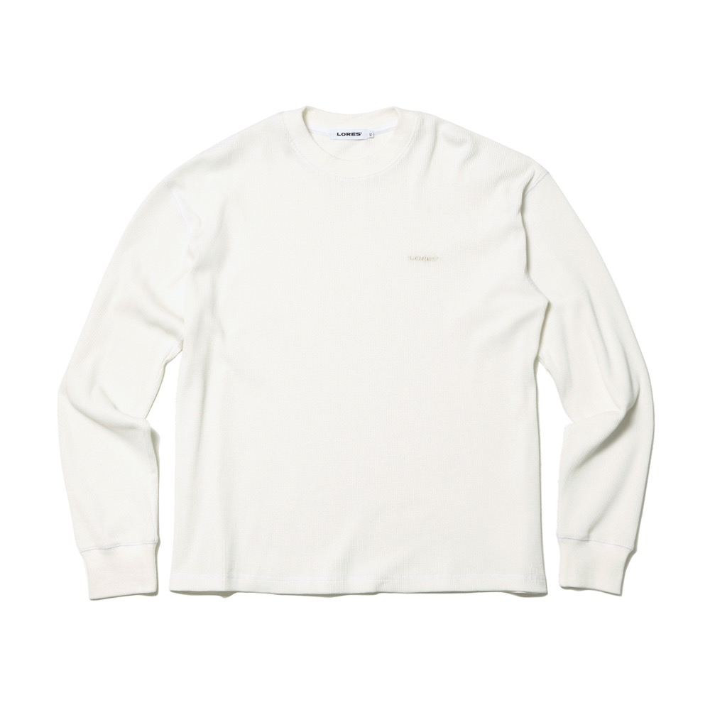 Thermal Elbow Patch L/S Tee - Beige