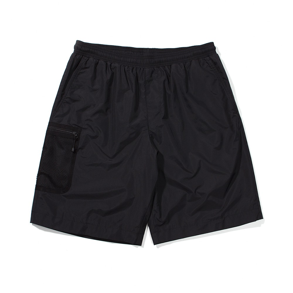 Mesh Pocket Shorts - Black