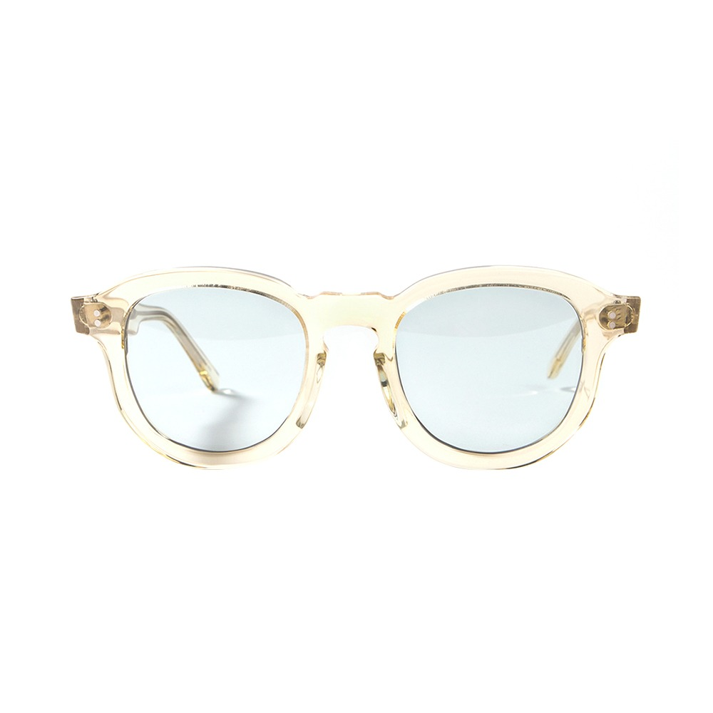 Hawk Sunglasses - Clear/Light Blue