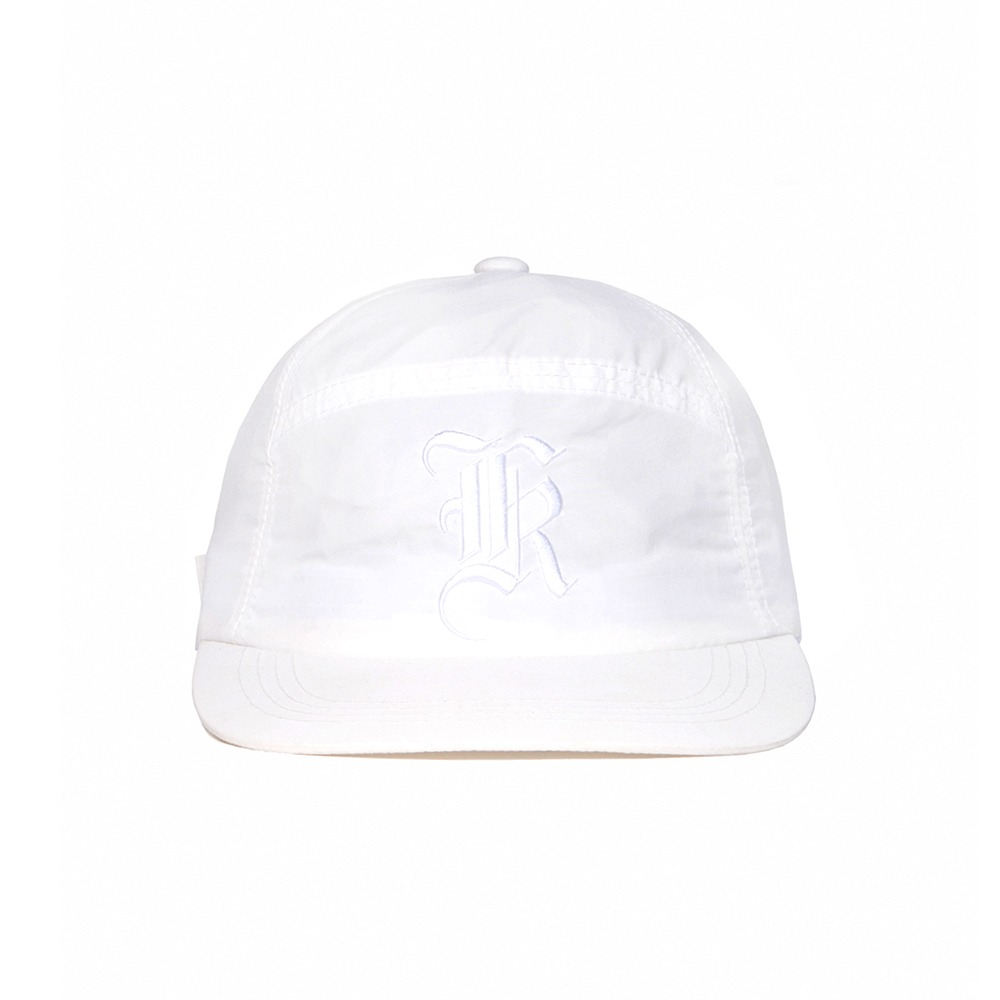 Old England Button Cap - White