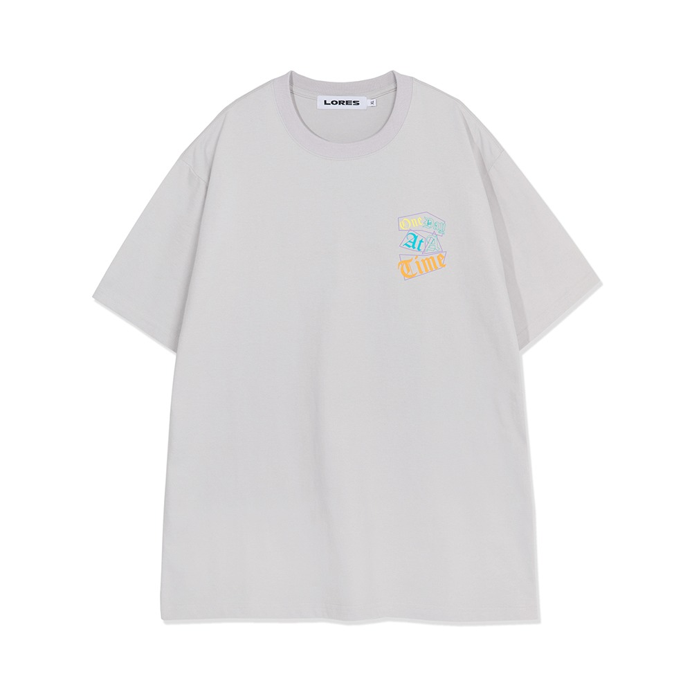 One Day S/S Tee - Ash Grey