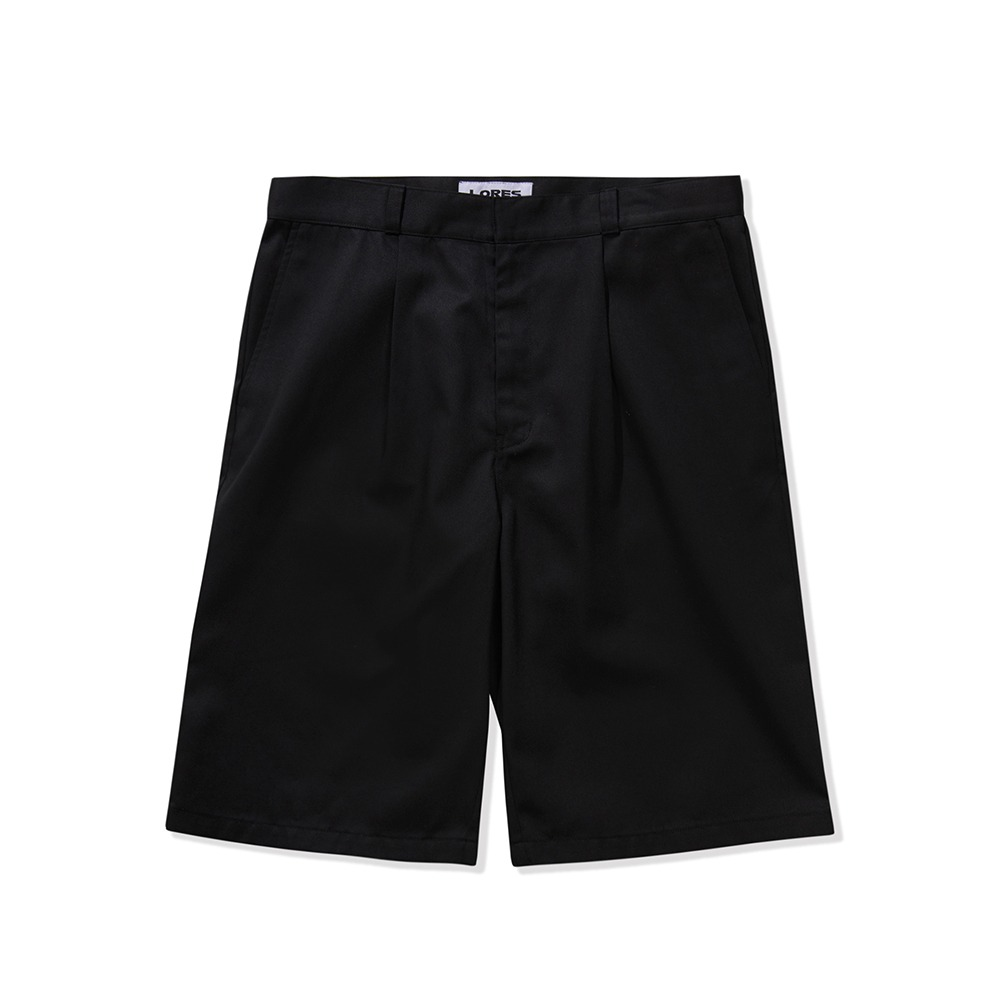 Multi Pocket Work Shorts - Black
