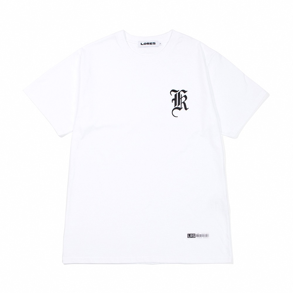 Old English Logo T-Shirt - White