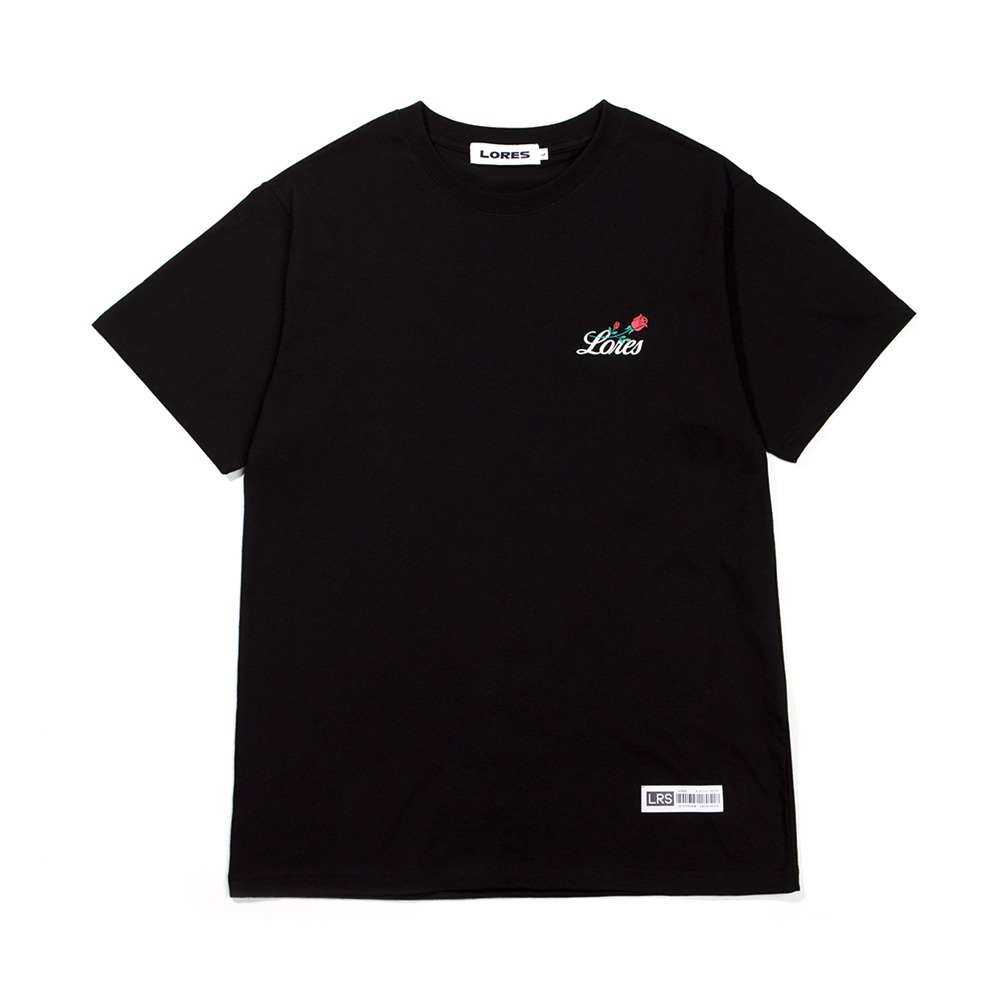 Rose S/S T-Shirt - Black