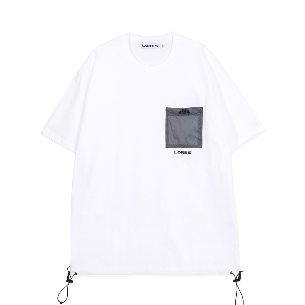 Pocket S/S Tee - White
