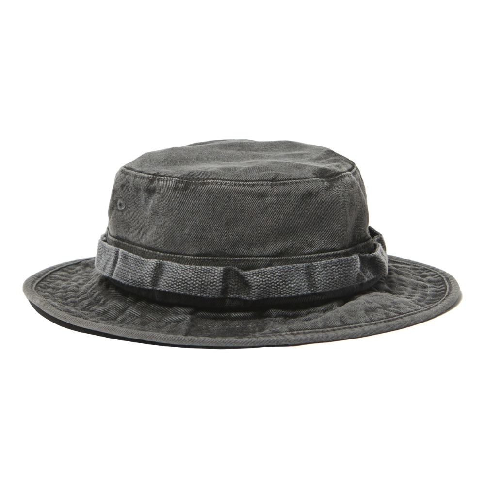 German Snow Camo Boonie Hat - Black