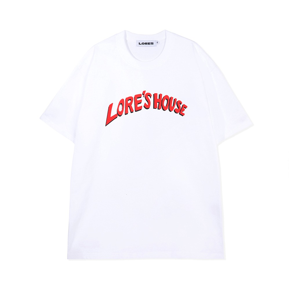 Lore's House S/S Tee - White