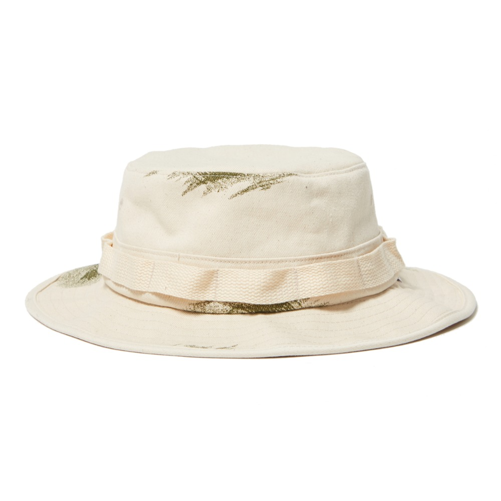 German Snow Camo Boonie Hat - Natural