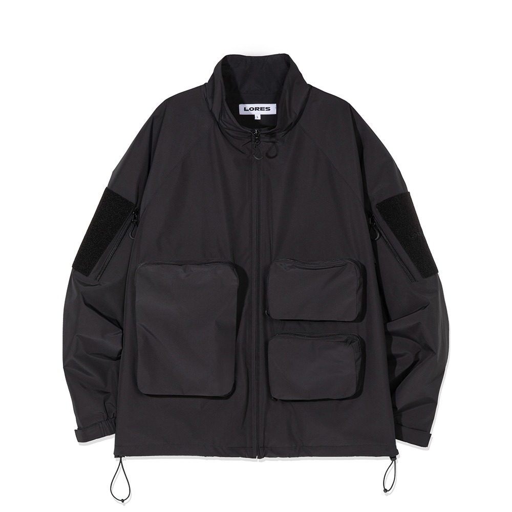 Multi Pocket Jacket - Black