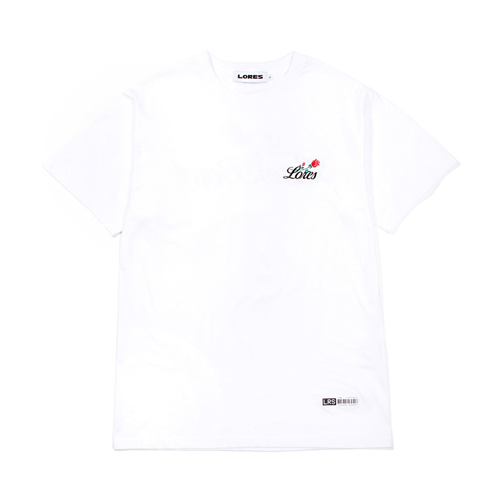 Rose S/S T-Shirt - White