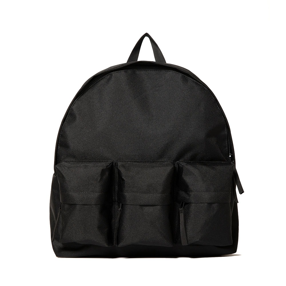 3-Pocket Backpack - Black