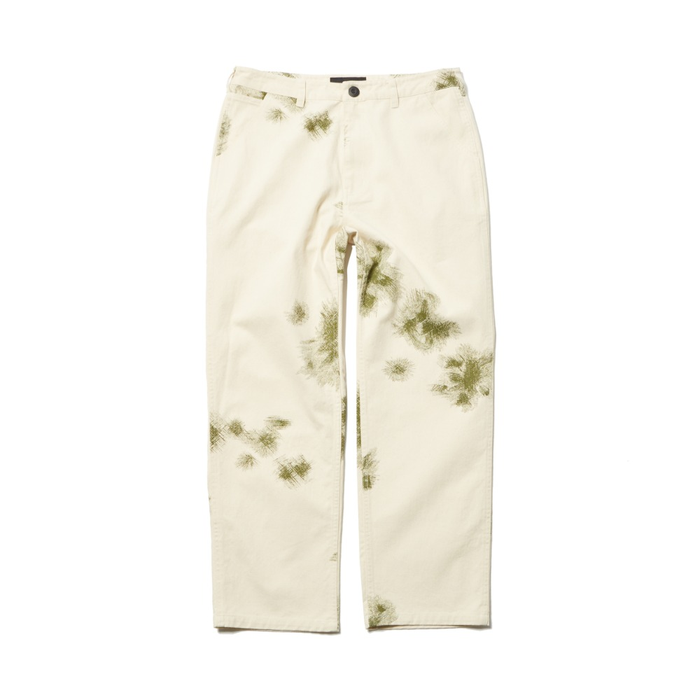 German Snow Camo Pants - Natural