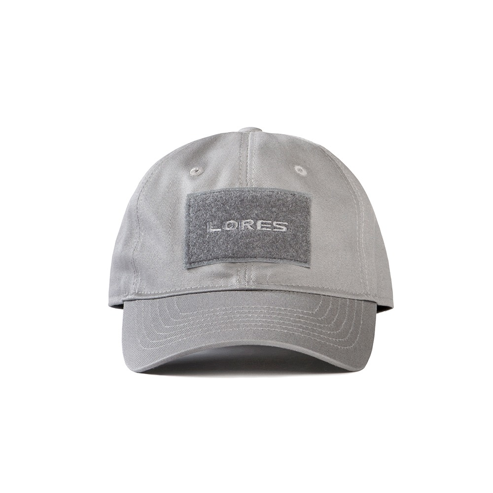 6-Panel Tactical Cap - Charcoal Grey