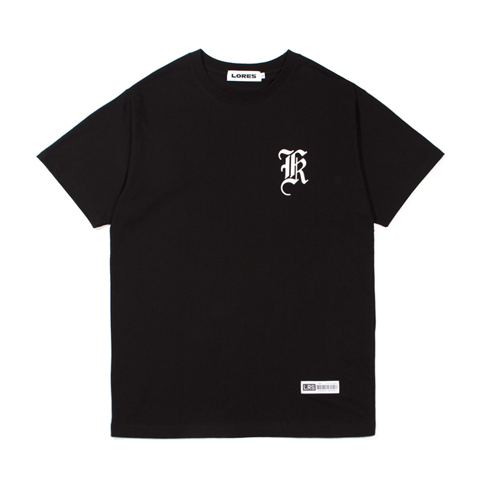 Old English Logo T-Shirt - Black