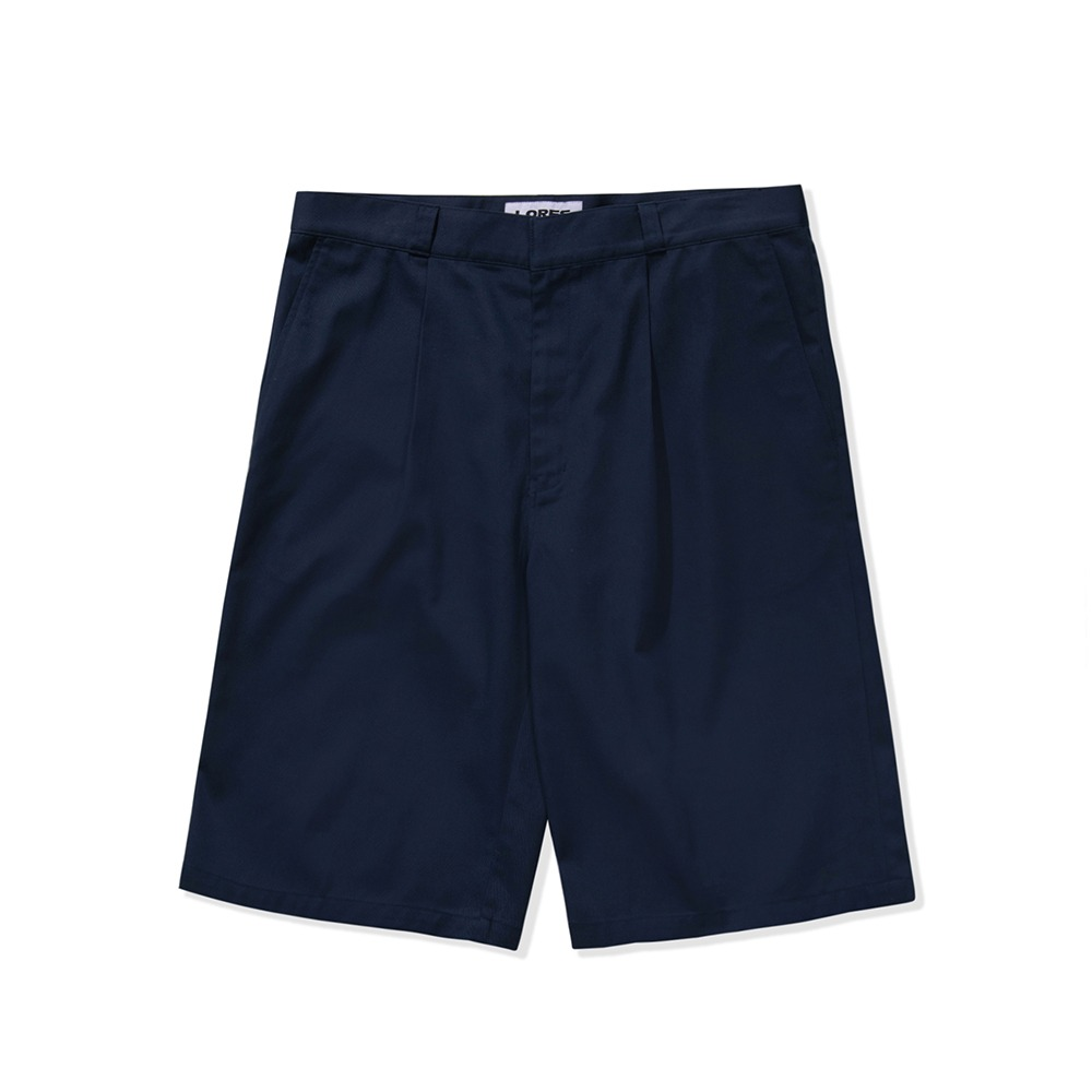 Multi Pocket Work Shorts - Navy