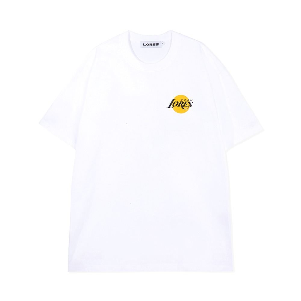 LORES Team S/S Tee - White