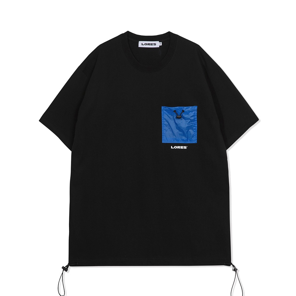 Pocket S/S Tee - Black