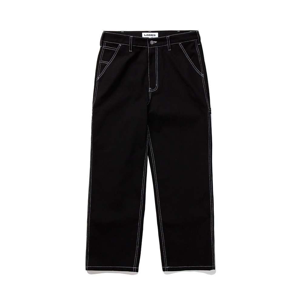 Canvas Painters Pants - Black