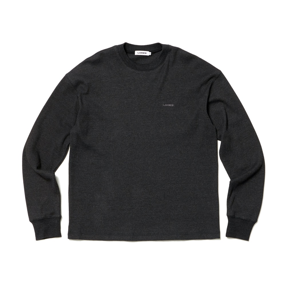 Thermal Elbow Patch L/S Tee - Charocal