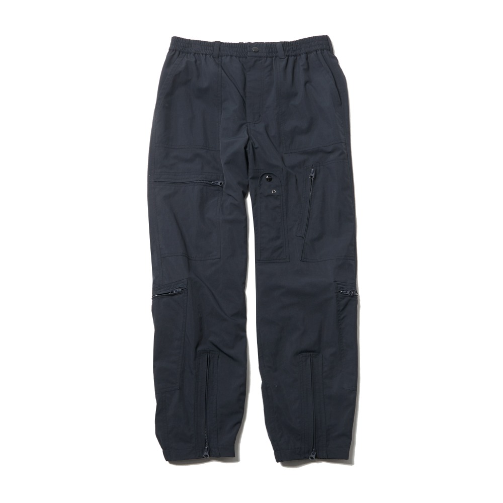 Nylon Parachute Pants - Navy