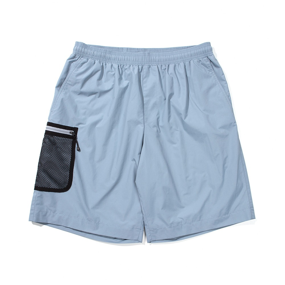 Mesh Pocket Shorts - Sky Blue