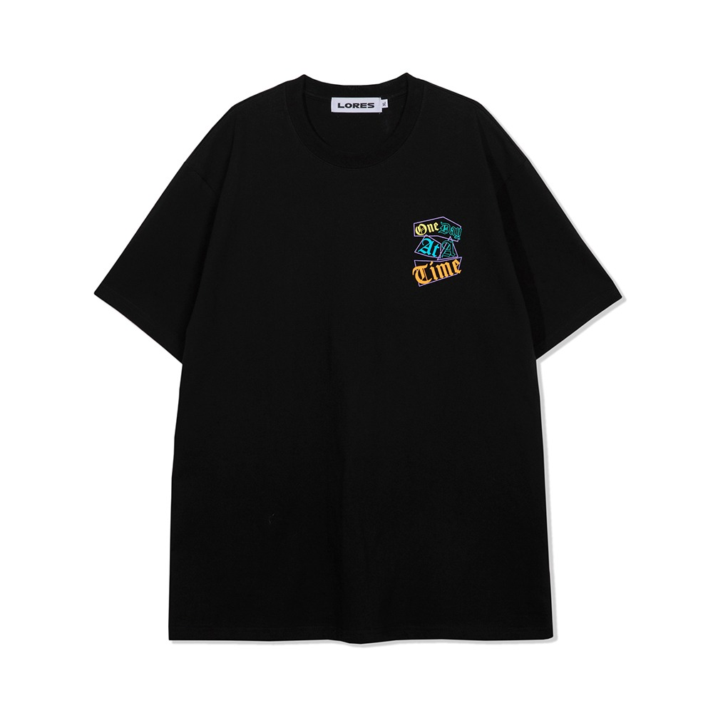 One Day S/S Tee - Black