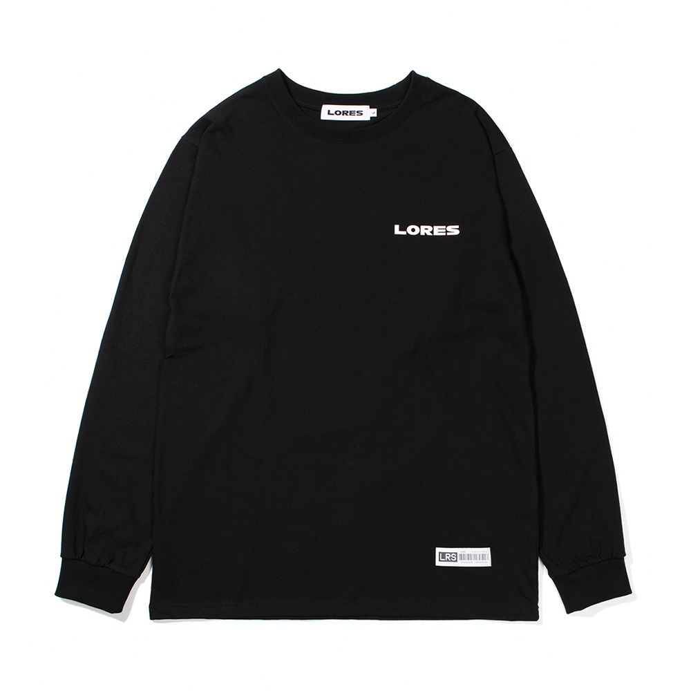Logo L/S T-shirts - Black