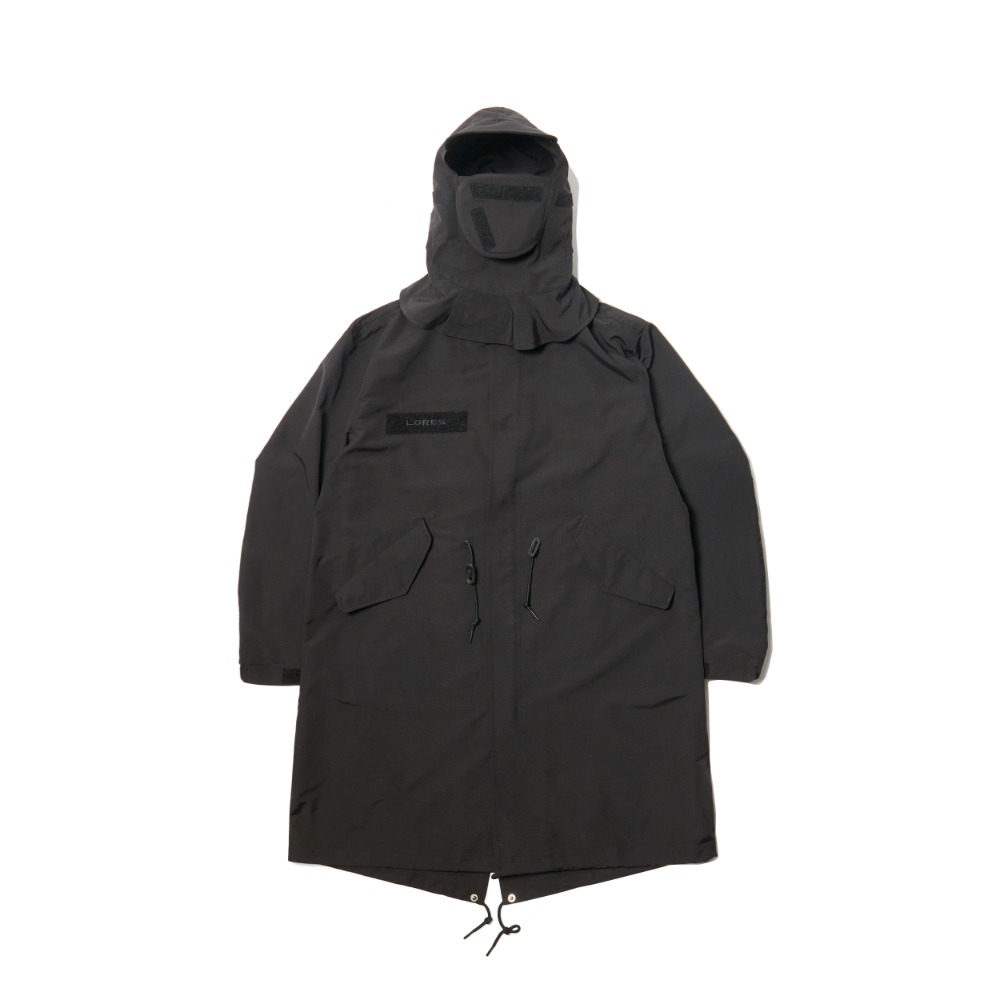 Mask M51 Mods Coat - Black