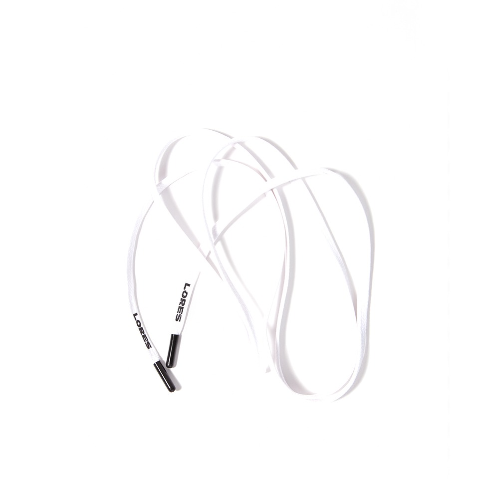 Logo String Belt - White