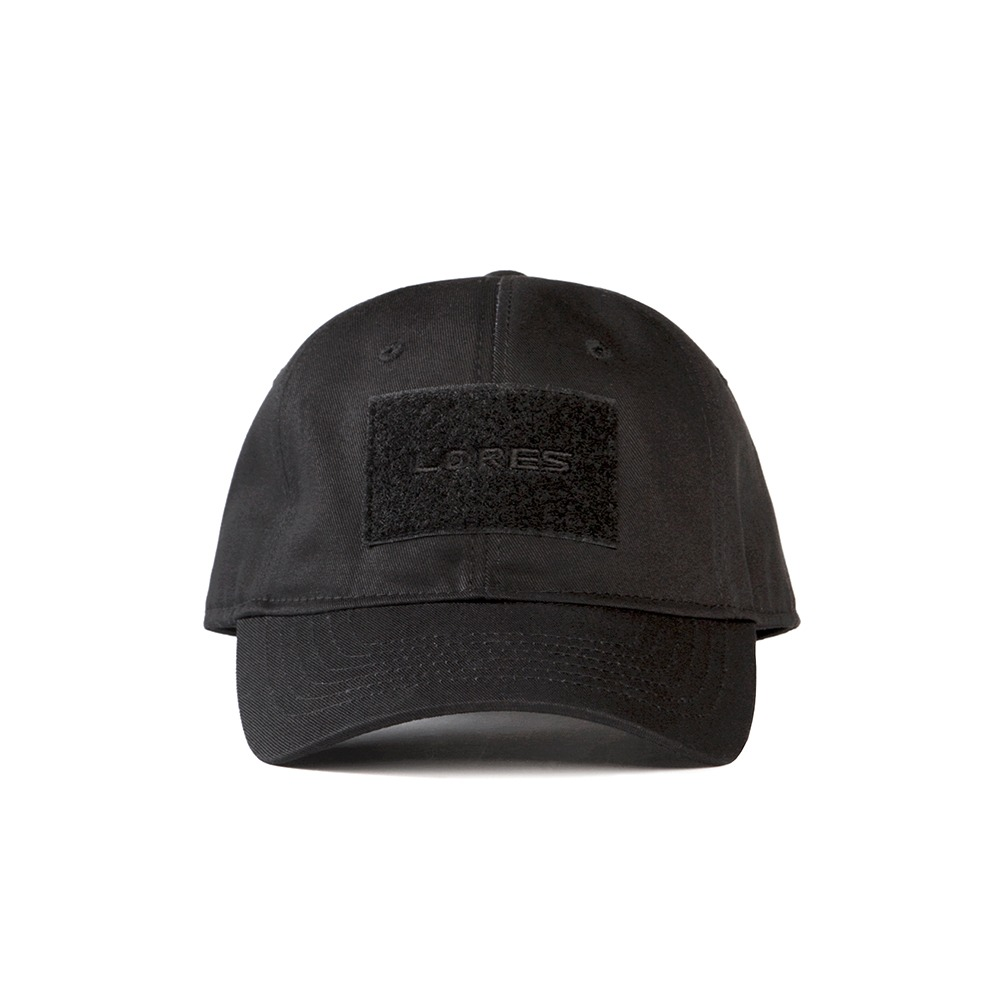 6-Panel Tactical Cap - Black