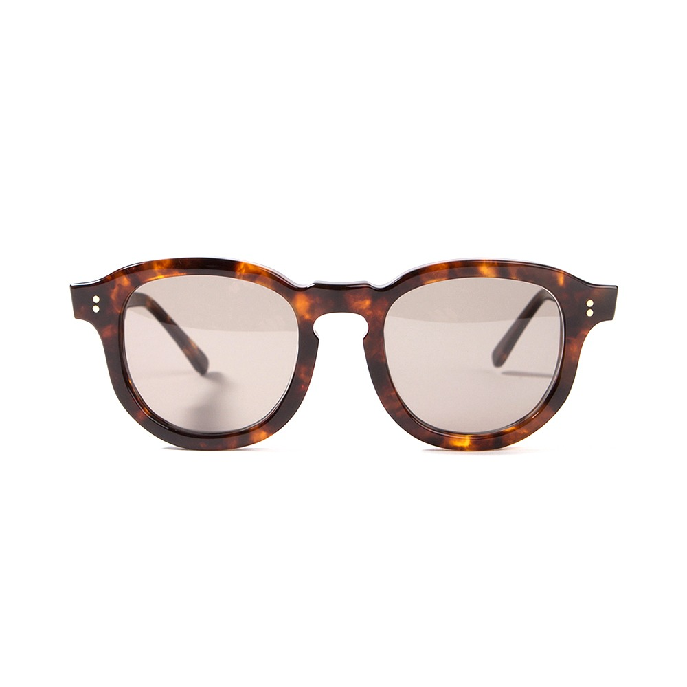 Hawk Sunglasses - Brown/Dark Smoke Green