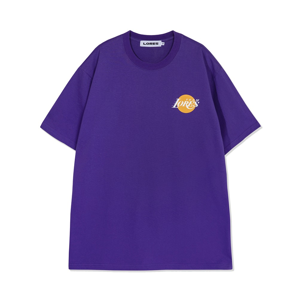 LORES Team S/S Tee - Purple