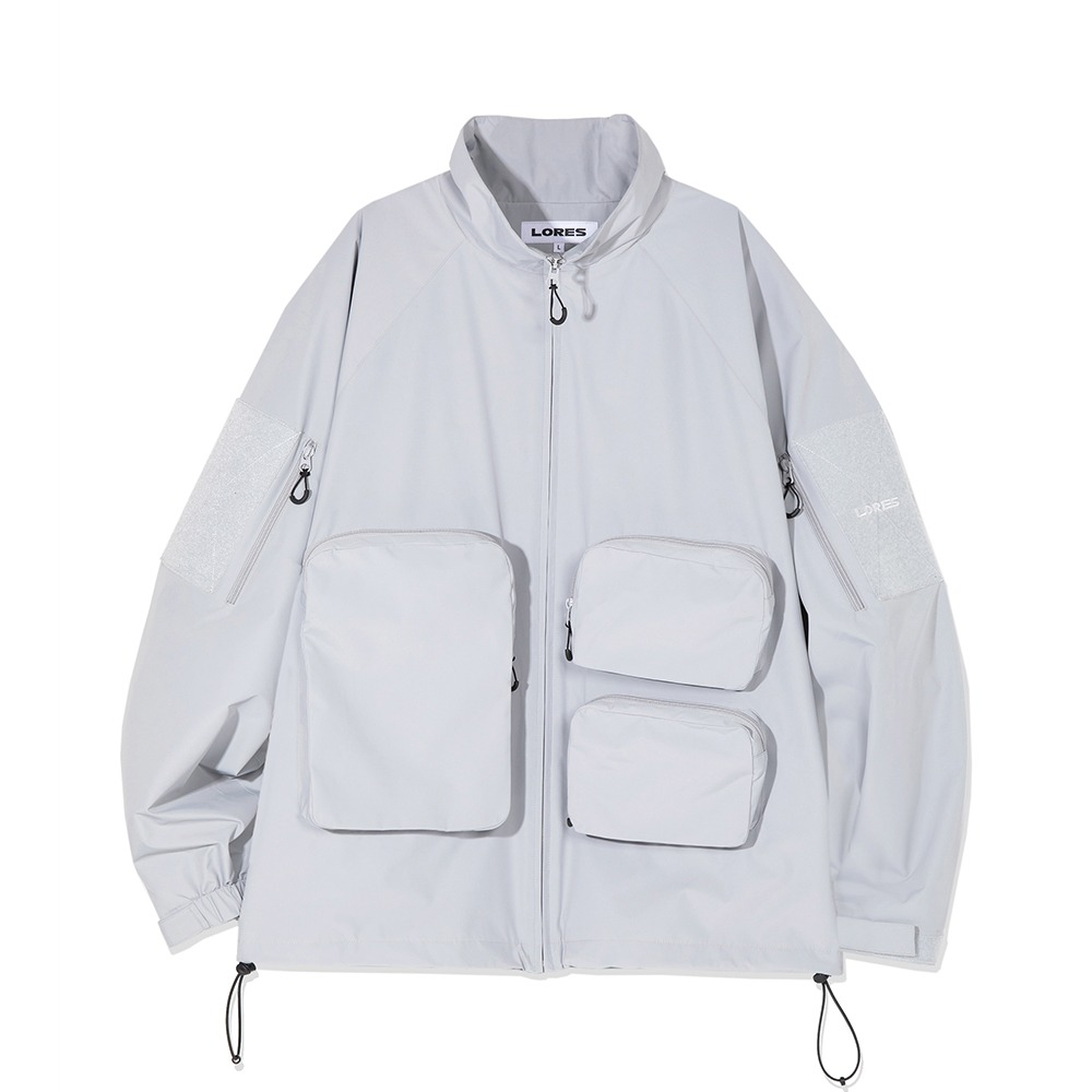 Multi Pocket Jacket - Grey