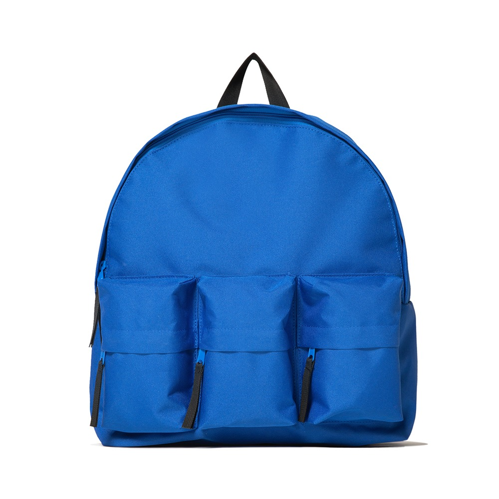 3-Pocket Backpack - Blue