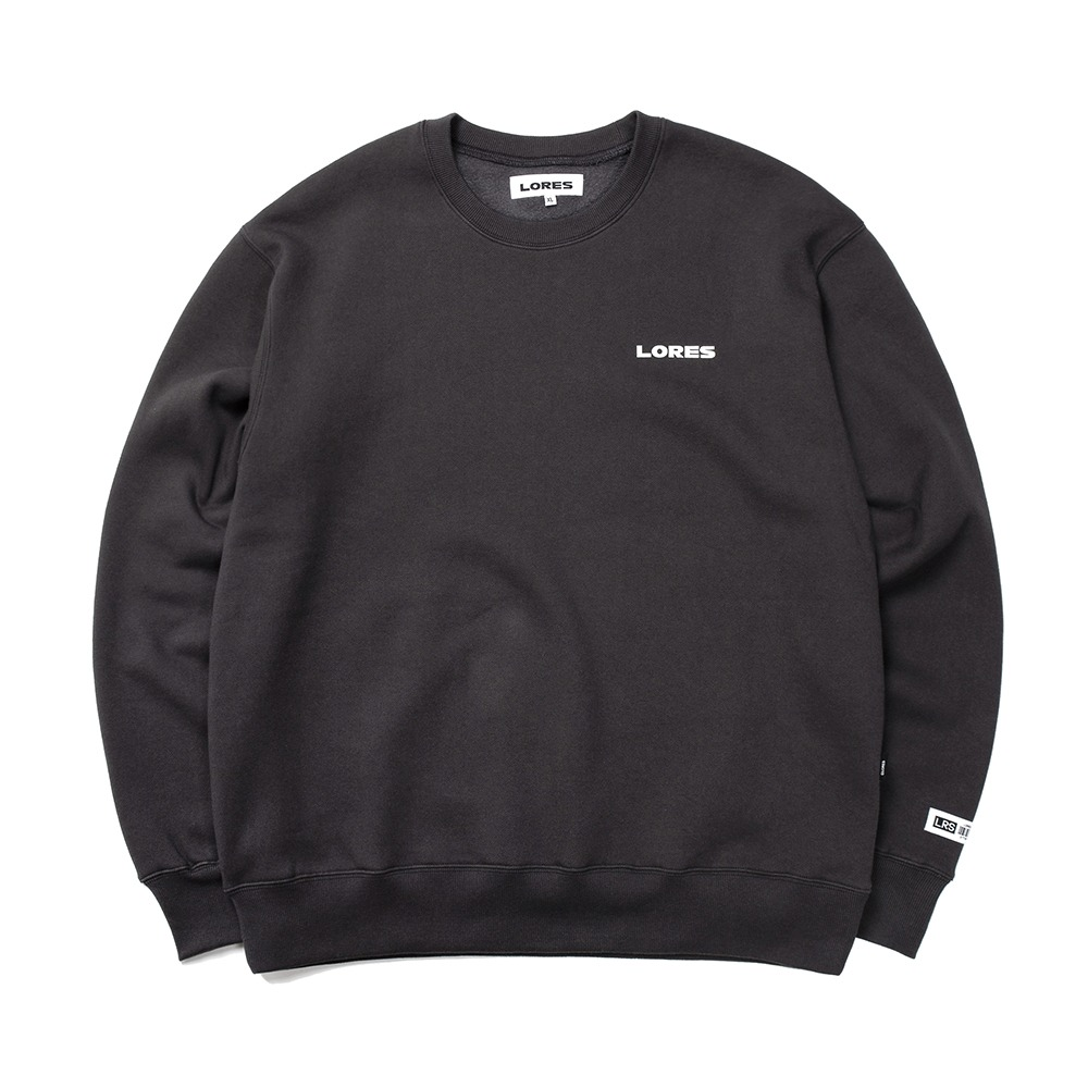 Logo Crewneck - Charcoal Grey