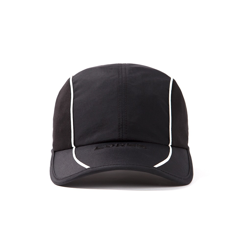 Piping Running Cap - Black